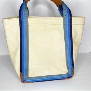 Anya Hindmarch Bags - Anya Hindmarch canvas Amused Face Ponte Tote Bag